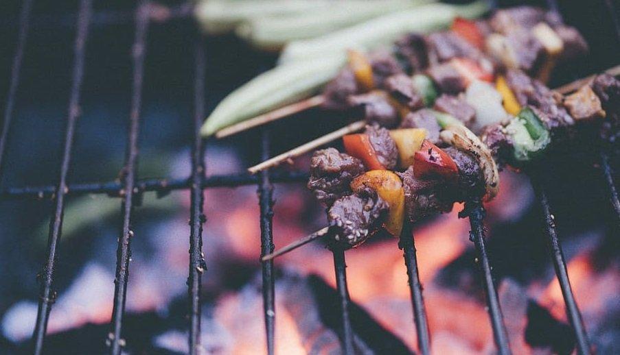 barbecue a carbonella legna grill amazon offerta