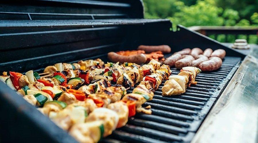 barbecue a carbonella legna carbone grill amazon