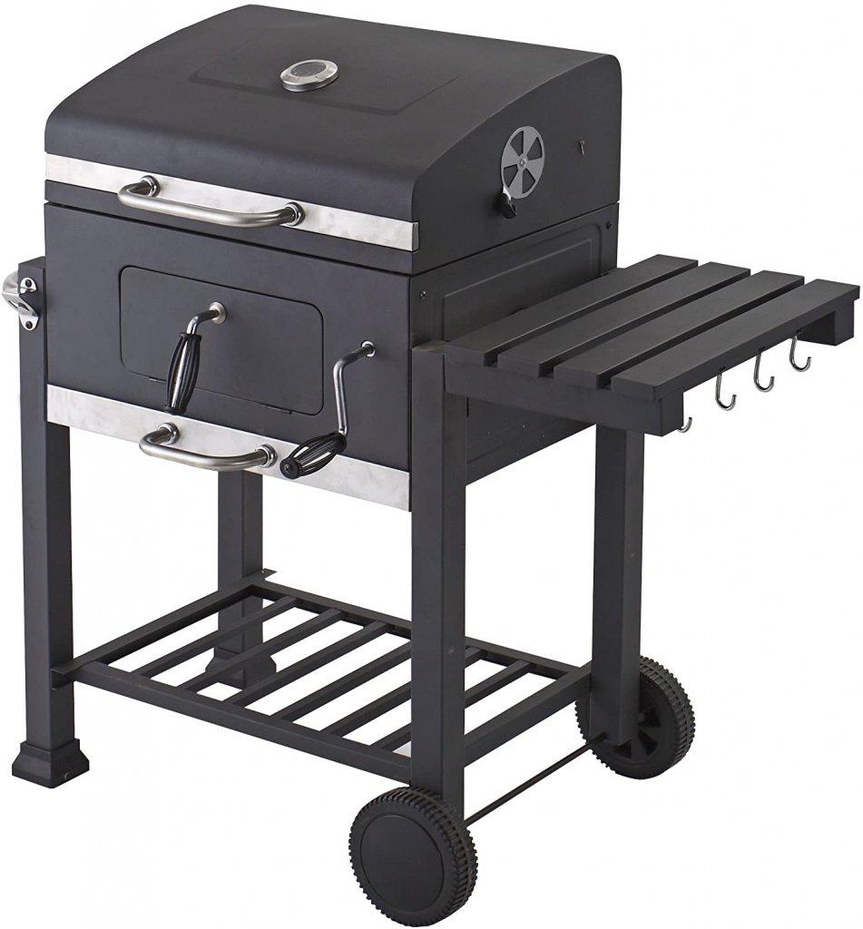 Tepro Toronto Barbecue a Carbone Antracite Acciaio Inox 🥓 Barbecue a Carbonella🍗 Barbecue Tepro