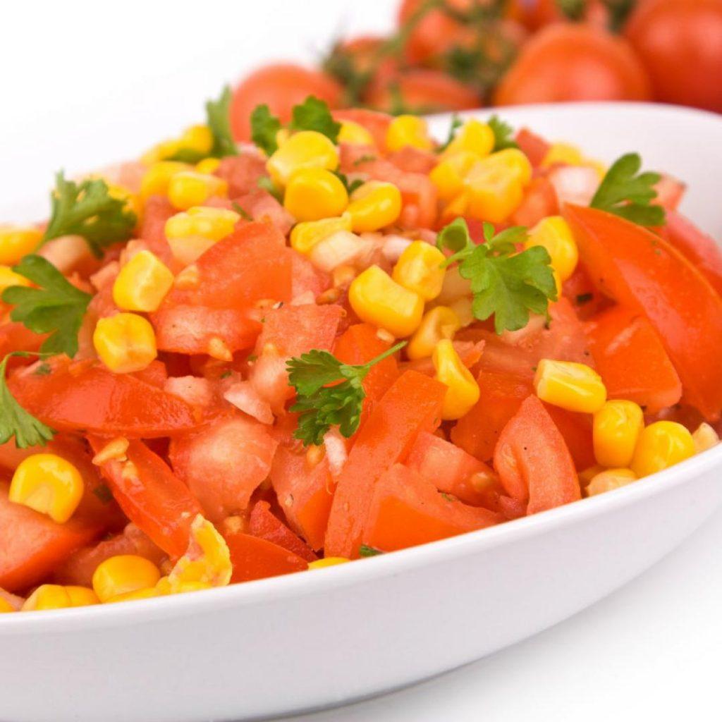 insalata per barbecue pomodori
