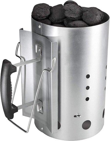 bruzzzler accendifuoco ciminiera di accensione barbecue  accendi-carbonella grigliata