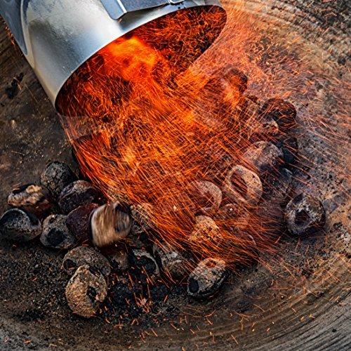 bruzzzler amazon ciminiera di accensione accendifuoco accendi-carbonella